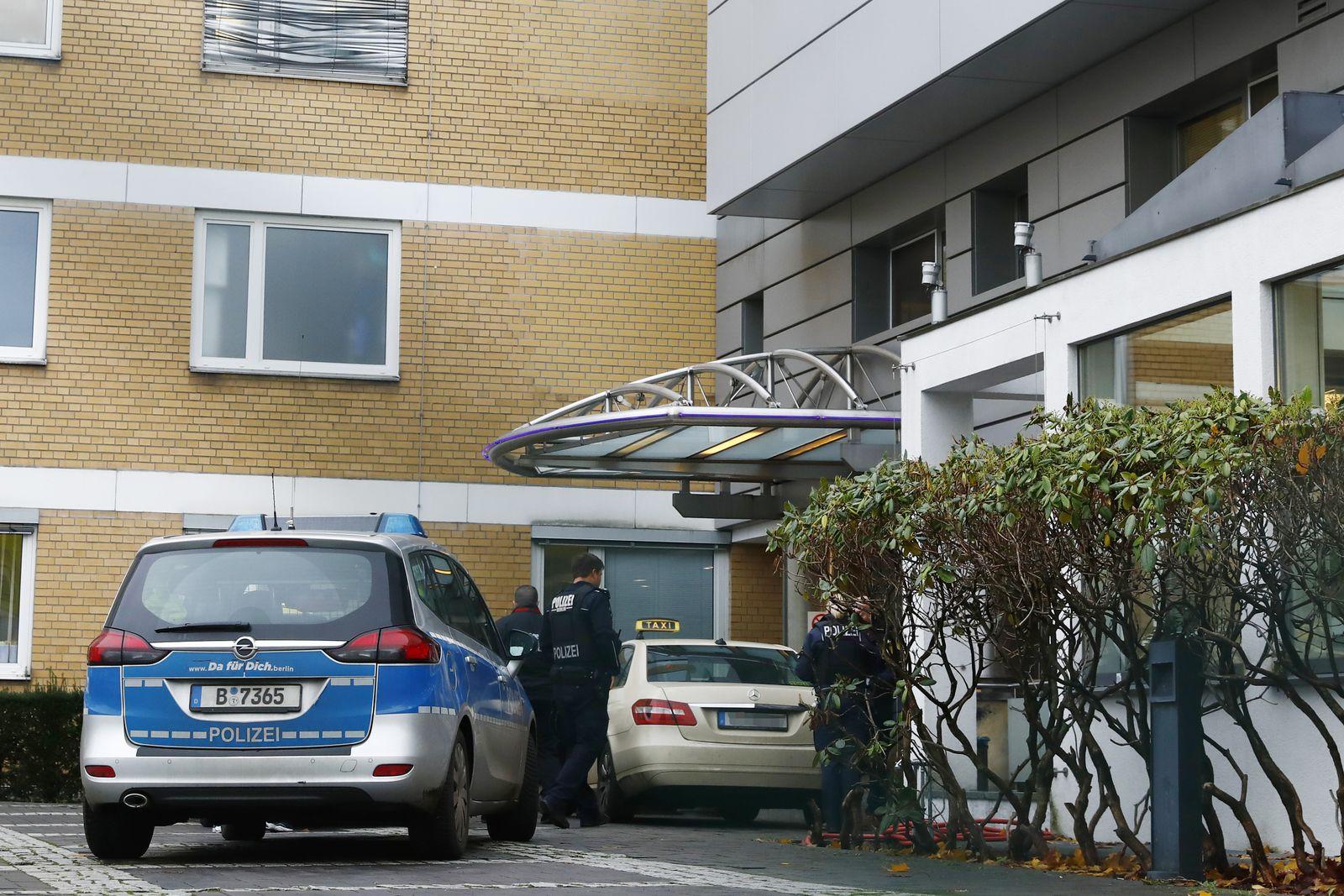 Schlosspark Klinik / Tatort Weizsäcker