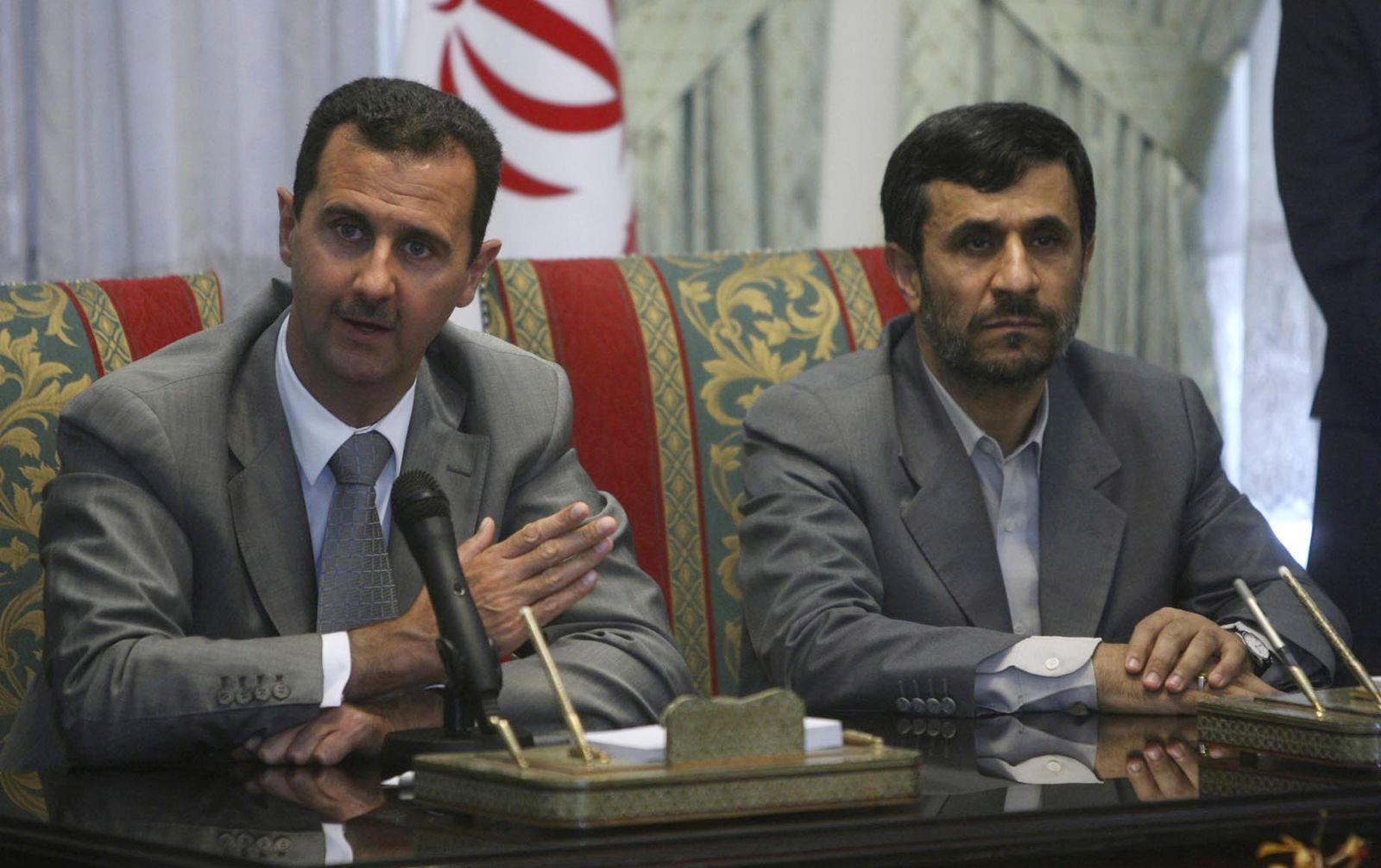 Baschar al-Assad / Mahmoud Ahmadinedschad