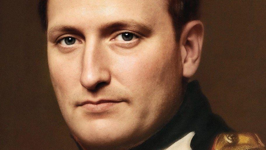 Computer-Porträt:Der Niederländer Bas Uterwijk macht aus Gemälden mithilfe künstlicher Intelligenz Bilder, die wie Fotos wirken – so könnte Napoleon ausgesehen haben