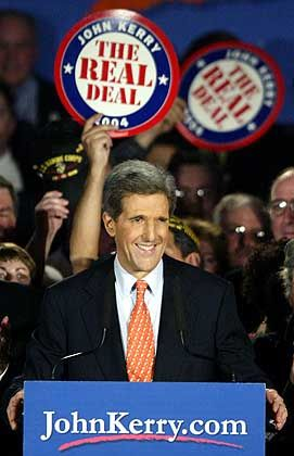 John Kerry: Sieger in New Hampshire
