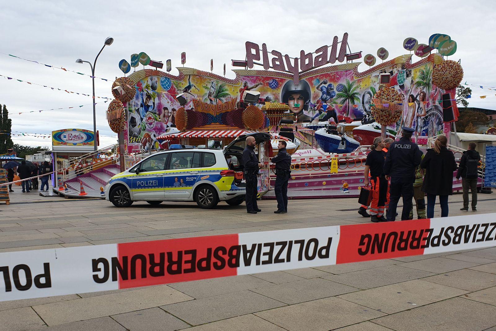 Tödliches Unglück bei Fest in Potsdam