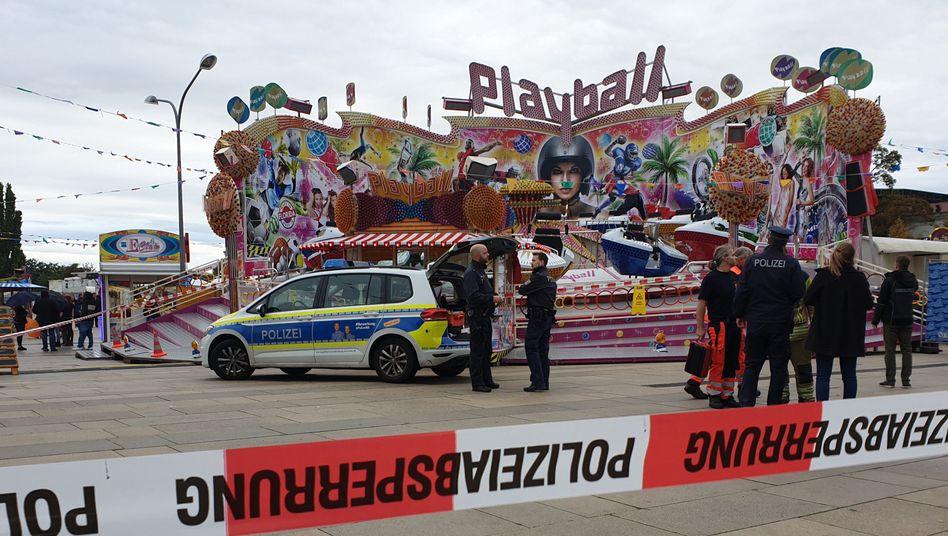 """Eine 29-jährige Frau ist auf dem """"Potsdamer Oktoberfest"""" tödlich verunglückt"""