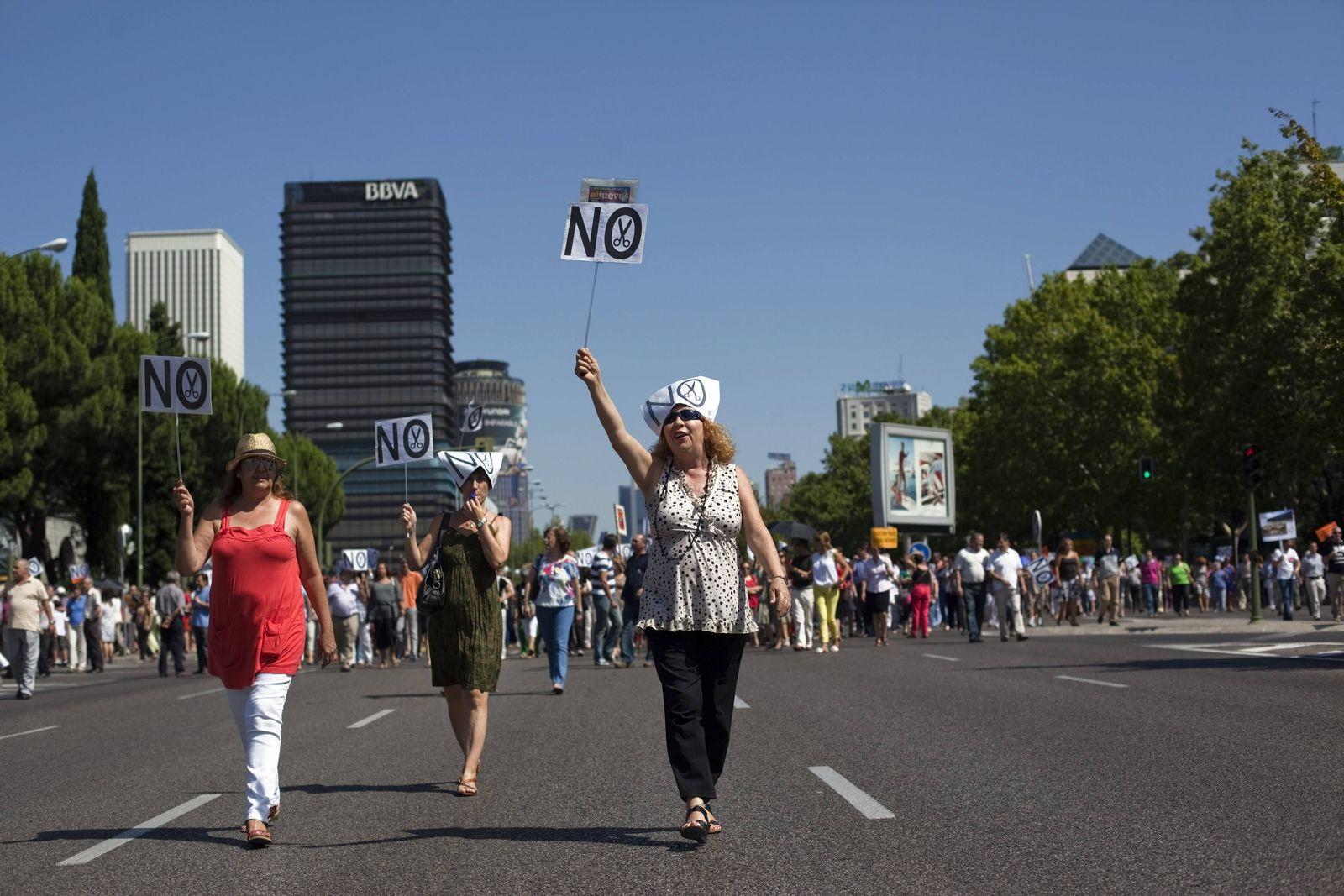 Spanien / Protest