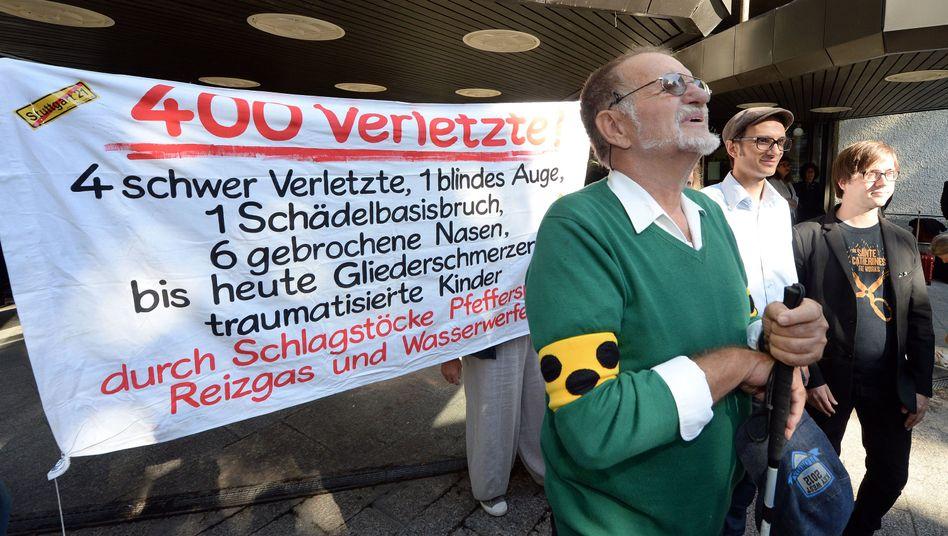 Stuttgart-21-Prozess: Angeklagte Polizisten weisen Vorwürfe zurück