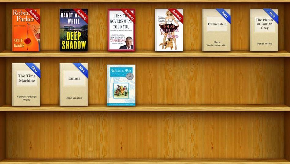 iBooks-Store auf dem iPad: Demnächst voller Lehrbücher?