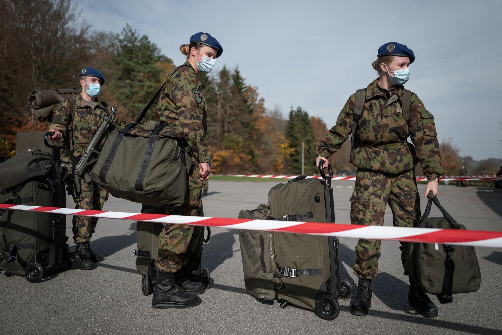 SWITZERLAND-HEALTH-VIRUS-ARMY