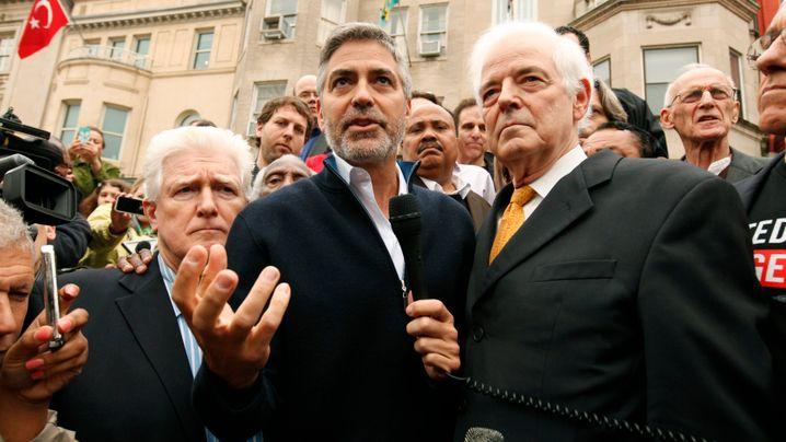 George Clooney: Festnahme in Washington