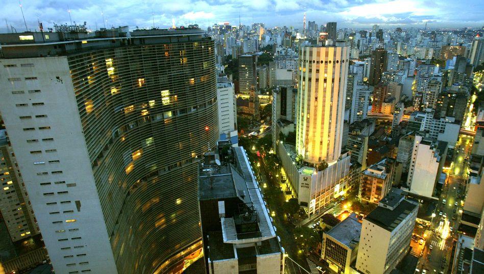 Skyline von São Paulo: Die Zahl der Start-ups wächst