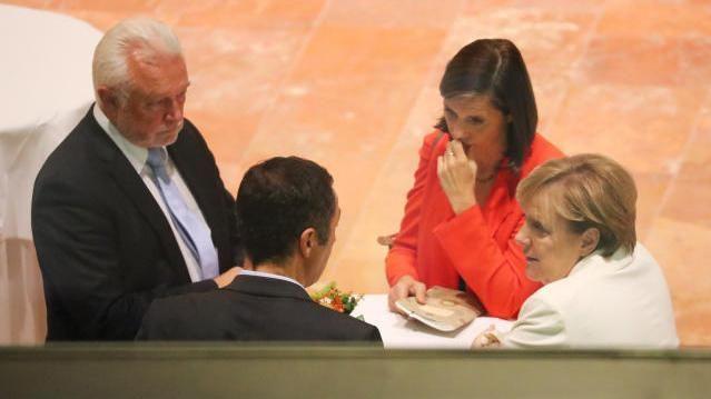 Vertreter von FDP, Grünen und CDU