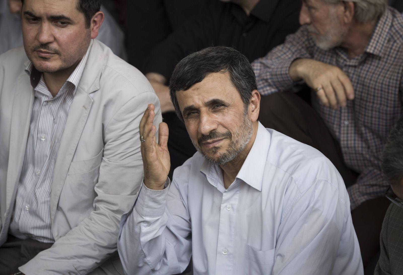 EINMALIGE VERWENDUNG Ahmadinejad