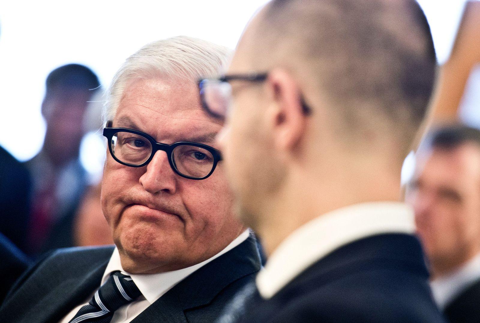 Außenminister Steinmeier / Janzenjuk