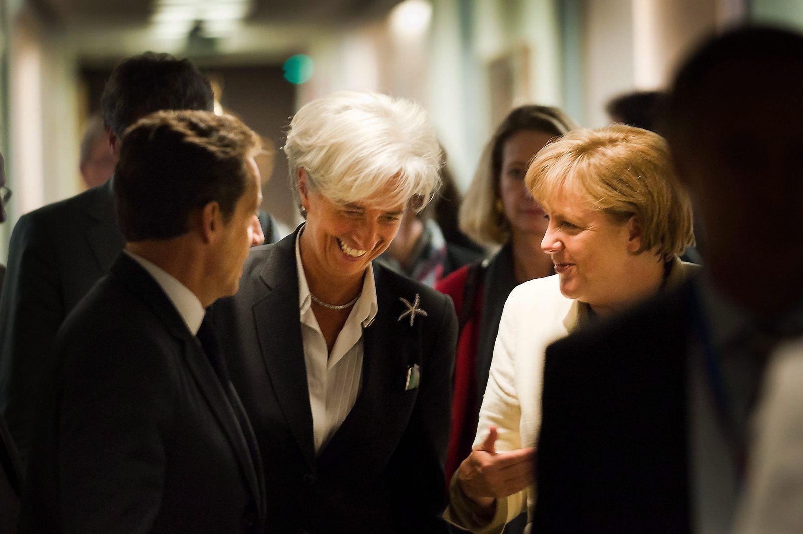 Brüssel / Euro-Krise / Merkel / Sarkozy / Lagarde