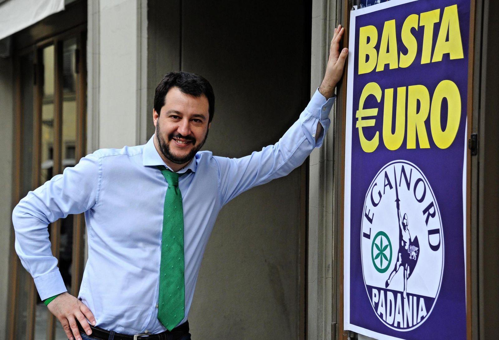 Matteo Salvini / Basta Euro