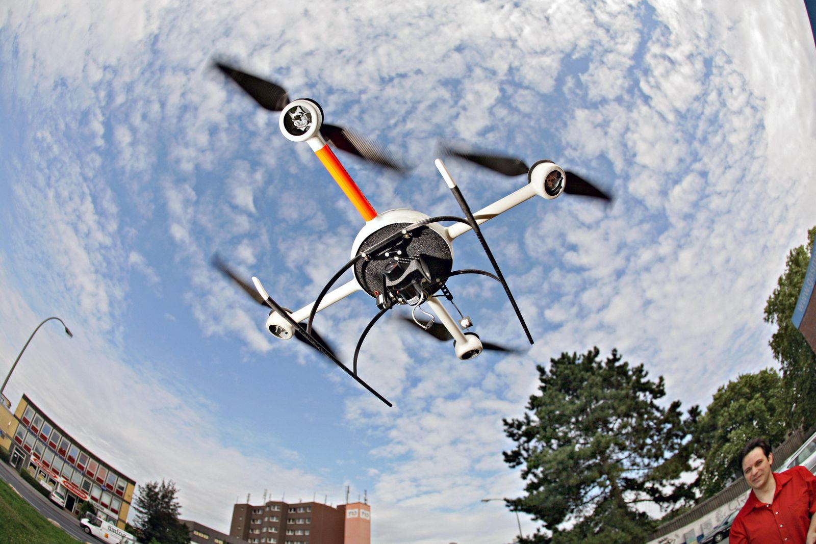 Drohne / Umwelt Forschungsprojekt