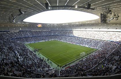 Münchner Allianz-Arena: 340 Millionen Euro teurer Palast