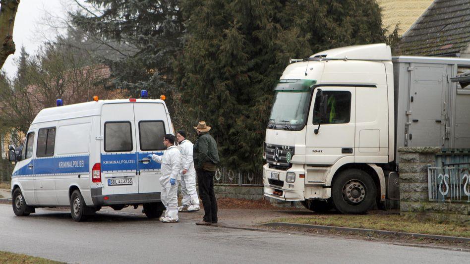 Tatort in Brandenburg: Hier eröffnete der Bauer das Feuer