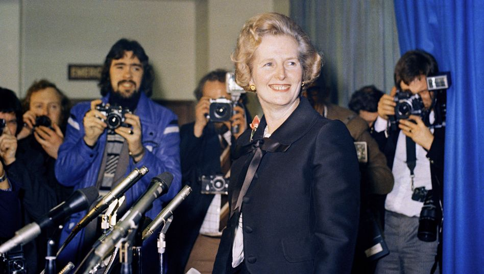 Margaret Thatcher in 1975, after getting elected as the first female leader of the Tories: The British leader bucked conventional wisdom in Europe.
