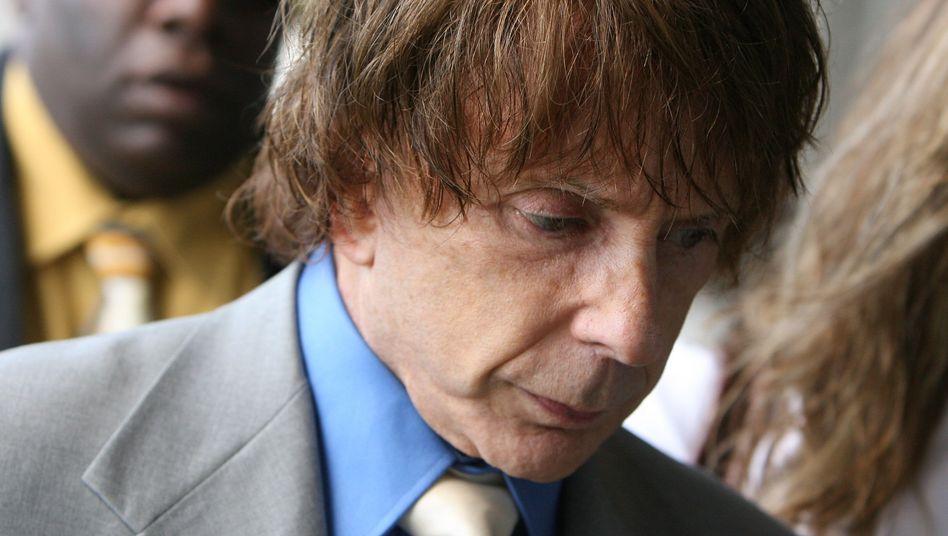 Phil Spector 2007 kurz vor seinem Gerichtsprozess in Los Angeles: Vom »Mad Genius« zum kriminellen Monster