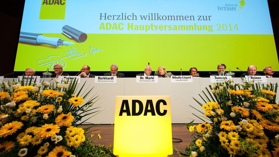 Angeschlagene Funktionärsriege: Das Präsidium des ADAC
