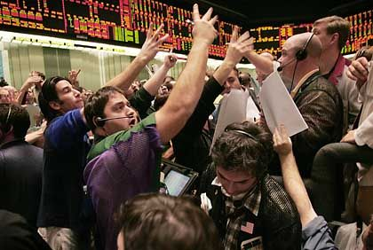 Finanzmarkt (in Chicago): Milliarden-Hilfen der Notenbanken verpufften