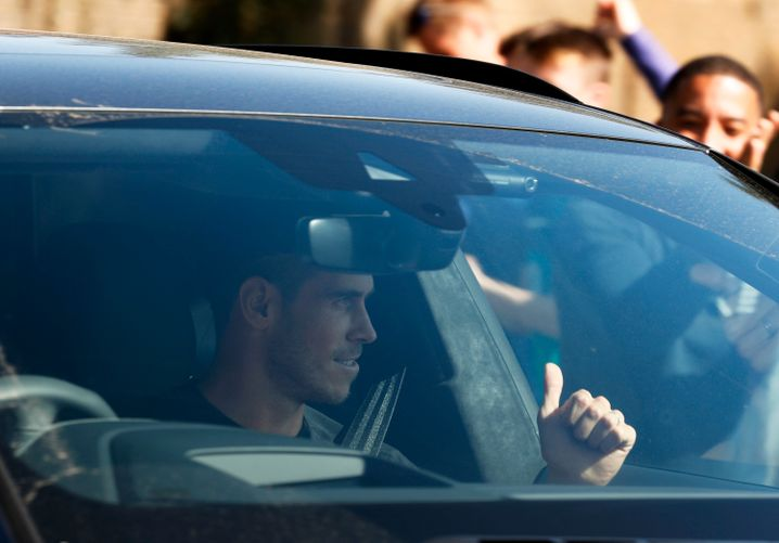 Gareth Bale ist wieder in London