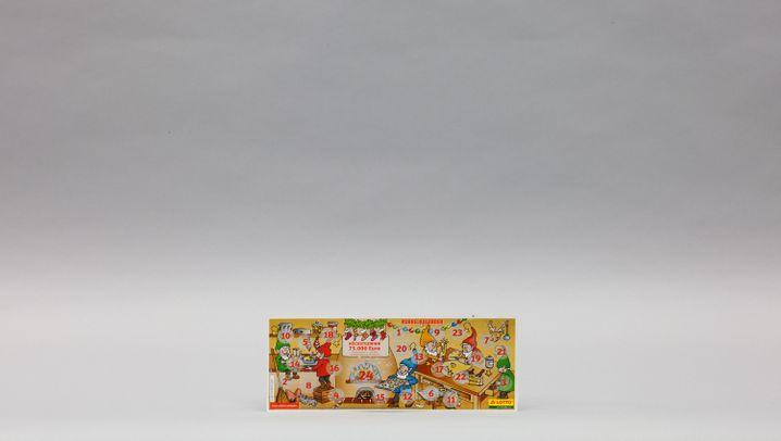 4. Für Spieler - Der Rubbelkalender