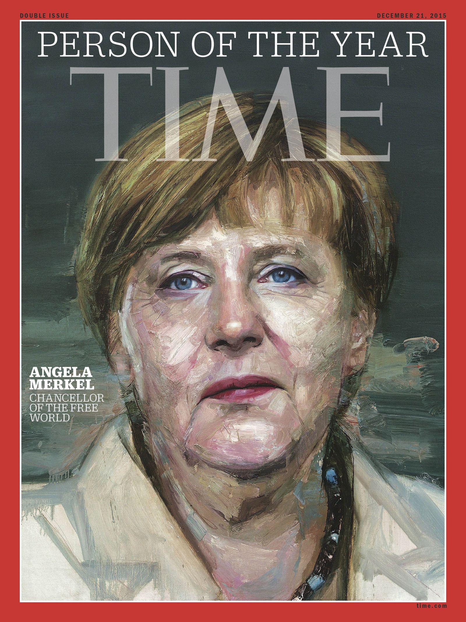 Time/ Merkel-Cover