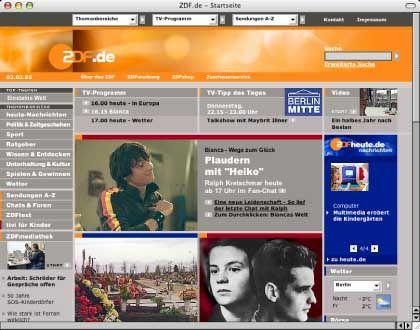 """ZDF im Internet: """"Wir haben grundsätzlich keinerlei kommerzielle Überlegungen"""""""