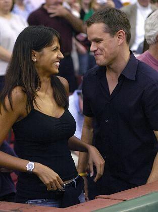 Matt Damon und Luciana Bozan: Bald Eltern von Isabella