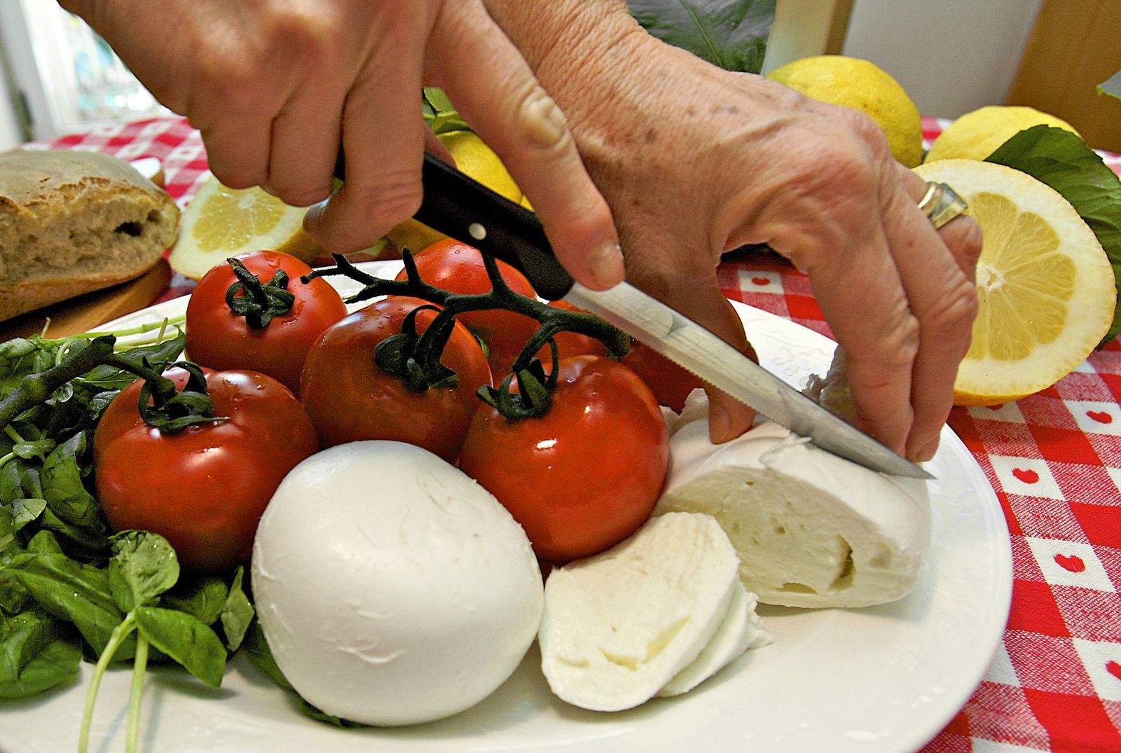 Mittelmeer-Diät Kost
