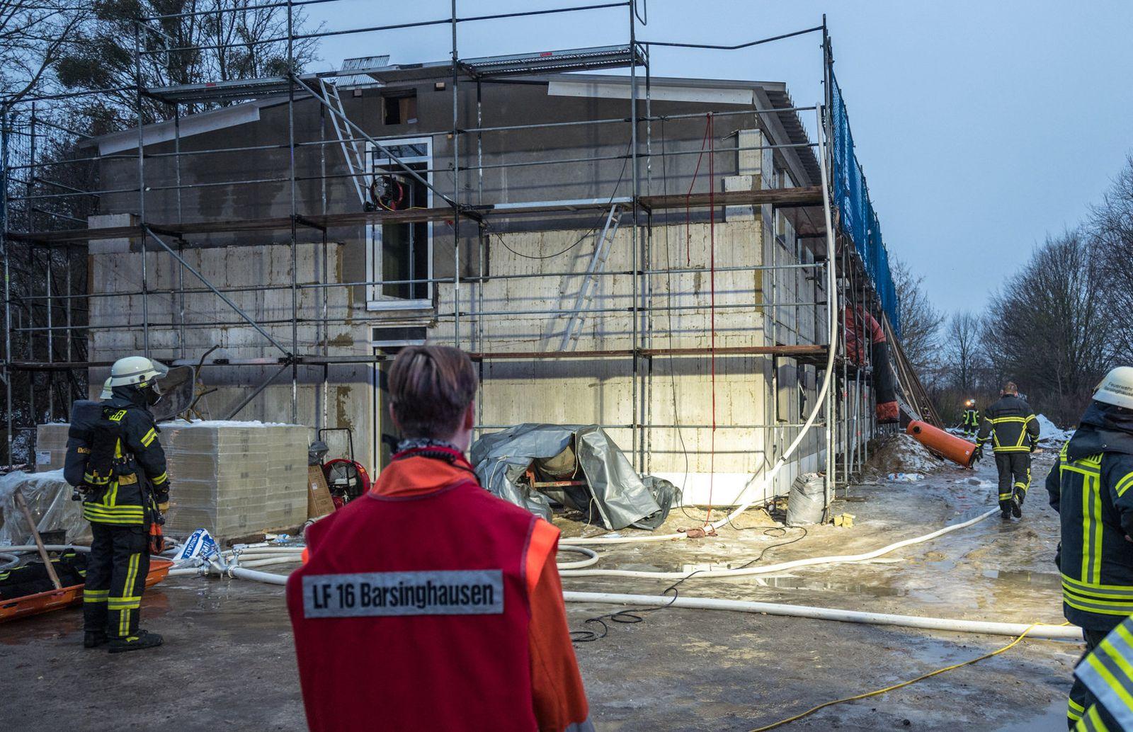 Anschlag auf geplantes Flüchtlingsheim