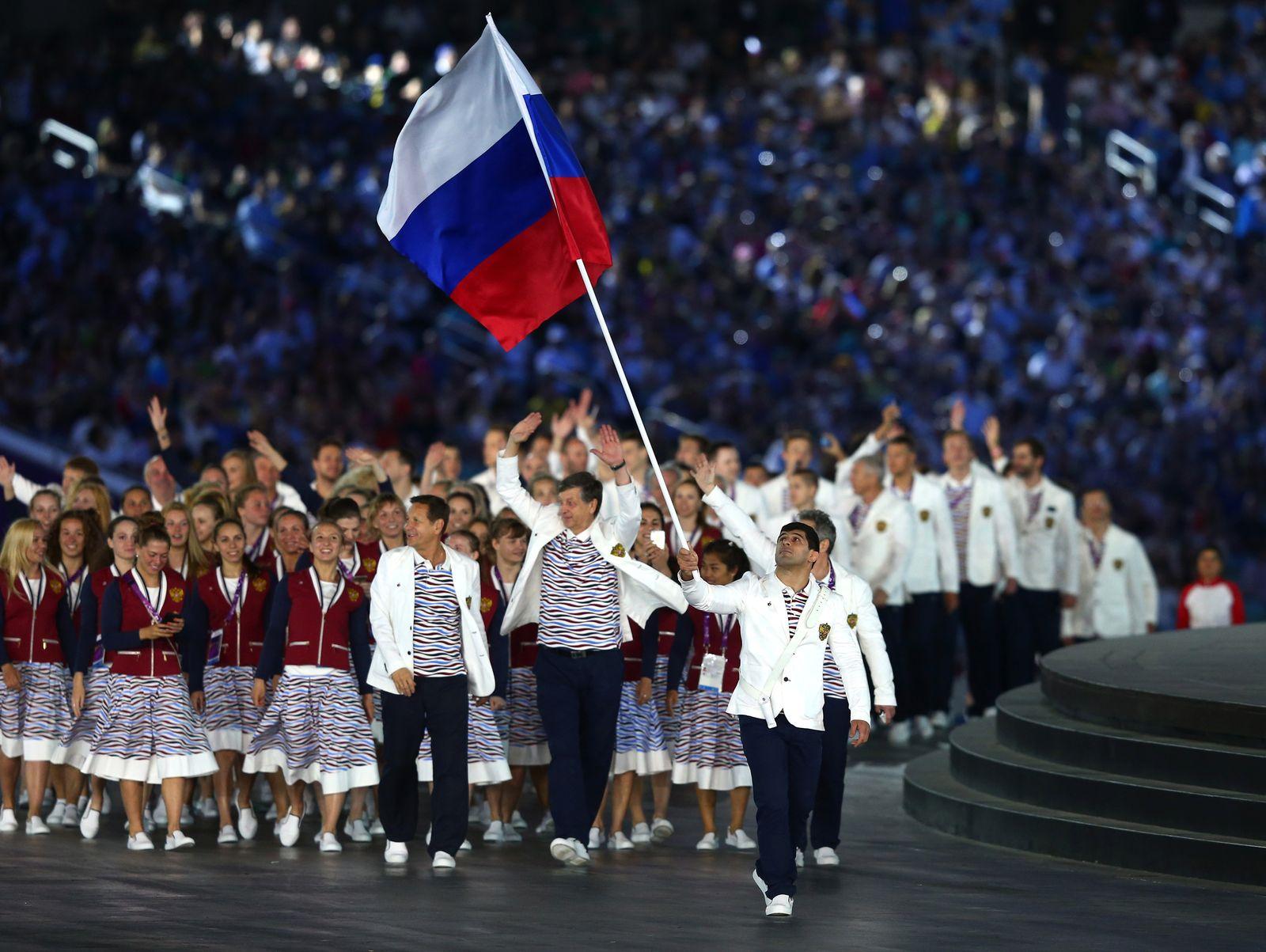 Team Russland/ Baku 2015