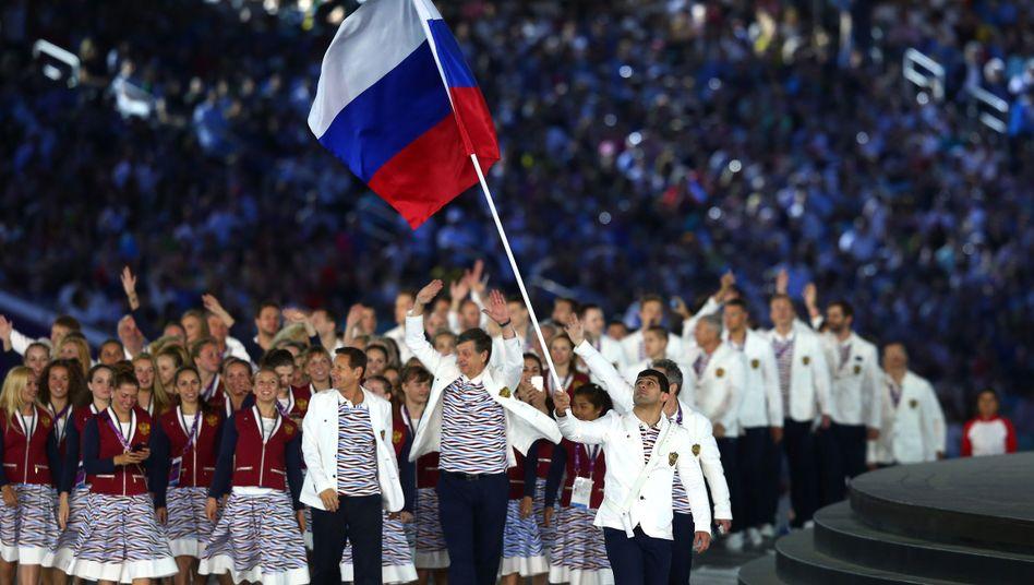 Russische Auswahl bei den Europaspielen 2015 in Baku