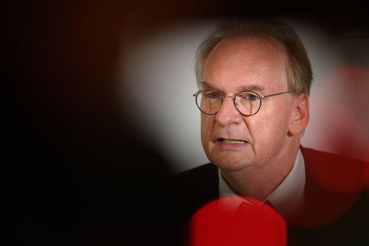 Politisch angeschlagen: Sachsen-Anhalts Ministerpräsident Reiner Haseloff