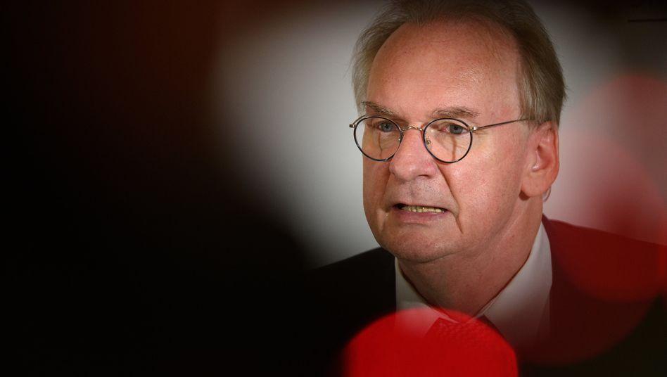Sachsen-Anhalts CDU-Ministerpräsident Haseloff