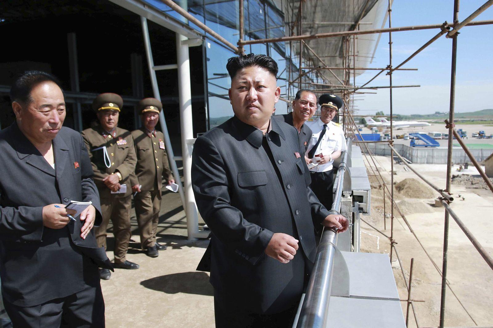 Pjönjang/ Flughafen/ Nordkorea