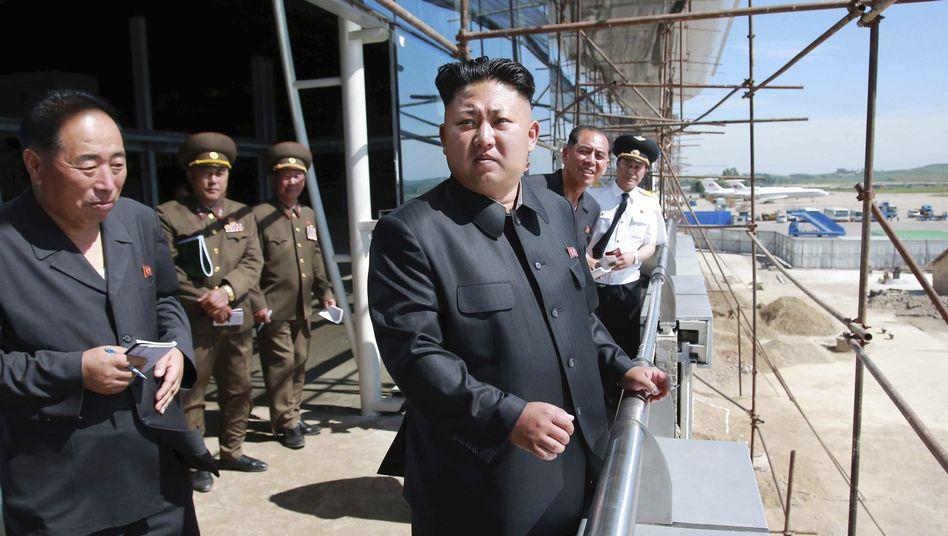 Staatschef Kim Jong Un: Spezialtruppe binnen Jahresfrist verdoppelt