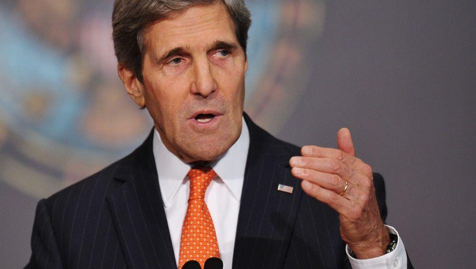 US-Außenminister Kerry: Hoffnung auf transatlantische Renaissance