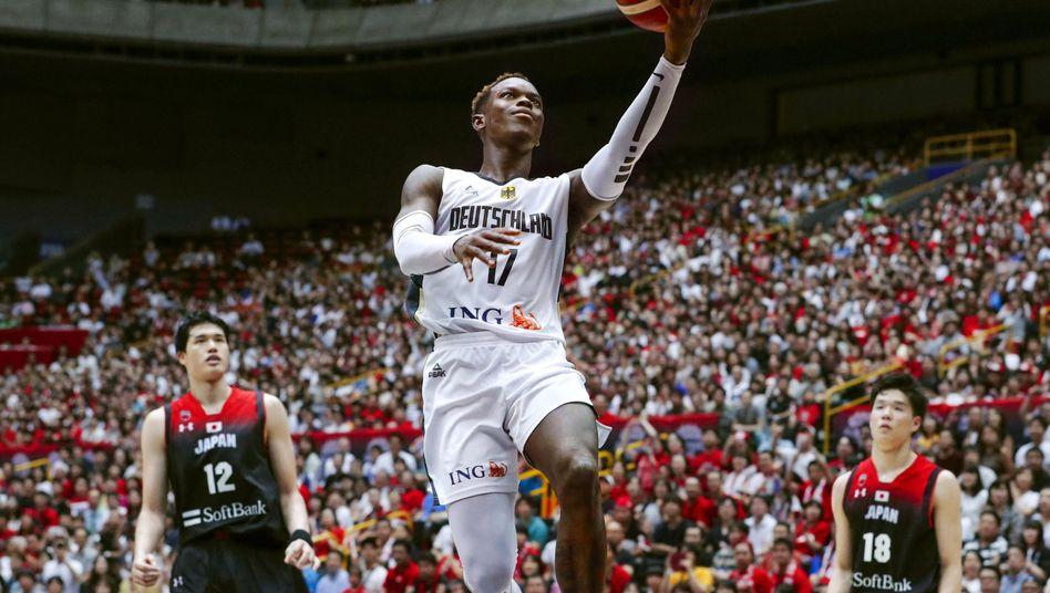 Mit Dennis Schröder (Oklahoma City Thunder) hat die DBB-Auswahl einen Point Guard aus der NBA im Kader