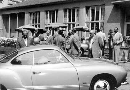 Karmann-Ghia-Premiere 1955: Geheimes Kommandounternehmen
