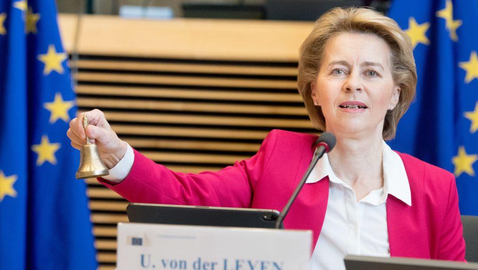 Ursula von der Leyen: Eine Einigung der EU-Staaten dürfte ein hartes Stück Arbeit für sie werden