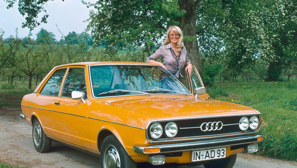 Audi 80: Das optisch eher schlicht gehaltene Auto, hier immerhin die feinere Variante GL, hatte es technisch in sich. Der Wagen wurde der erste Millionenseller der Marke Audi.