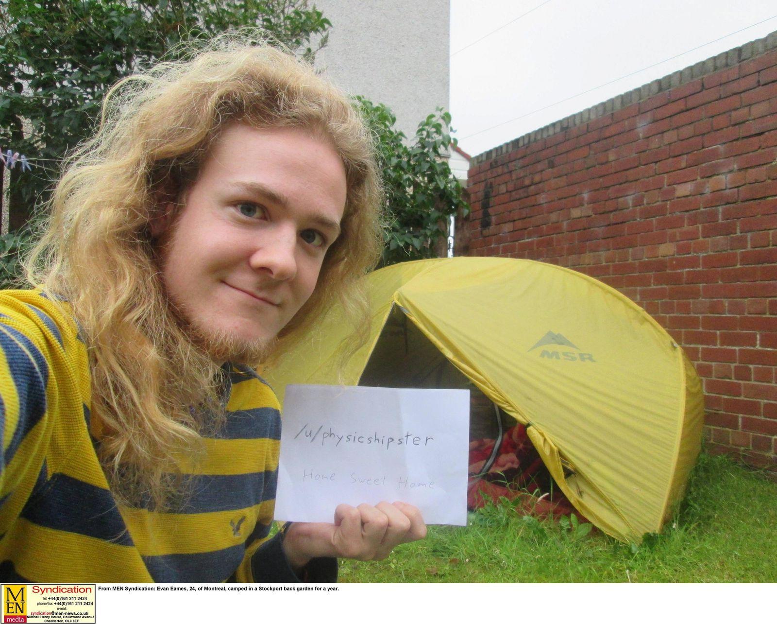 EINMALIGE VERWENDUNG Evan Eames outside tent.jpg