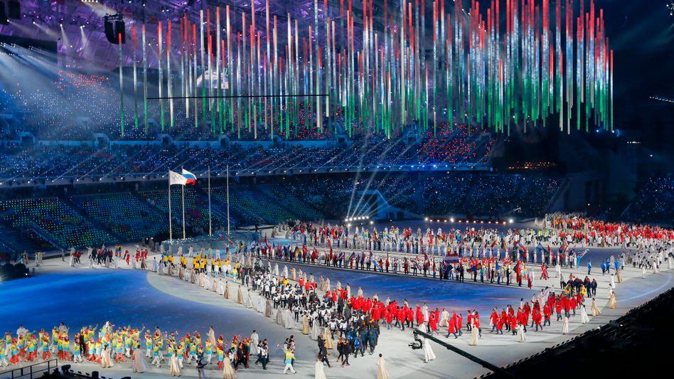 Eröffnungsfeier der Winterspiele 2014 in Sotschi
