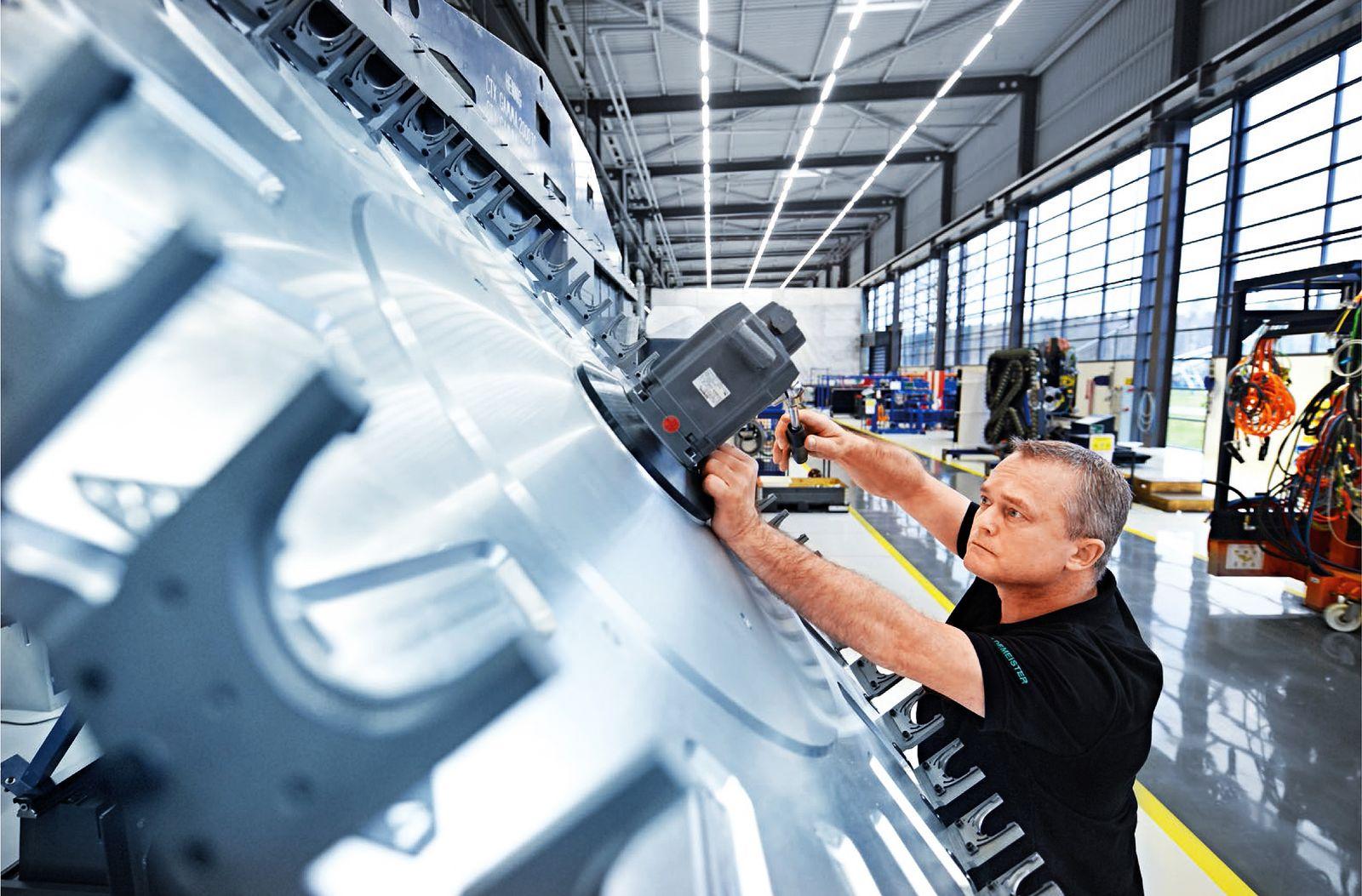 Deutschland Konjunktur / Wirtschaft / Industrie / Maschinenbau