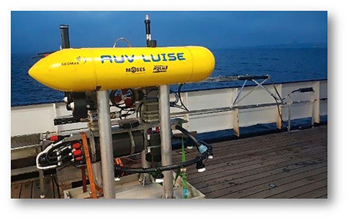 Das Autonome Unterwasserfahrzeug »Luise« kostet einige Hunderttausend Euro