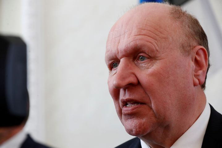Innenminister Mart Helme von der rechtspopulistischen EKRE Partei