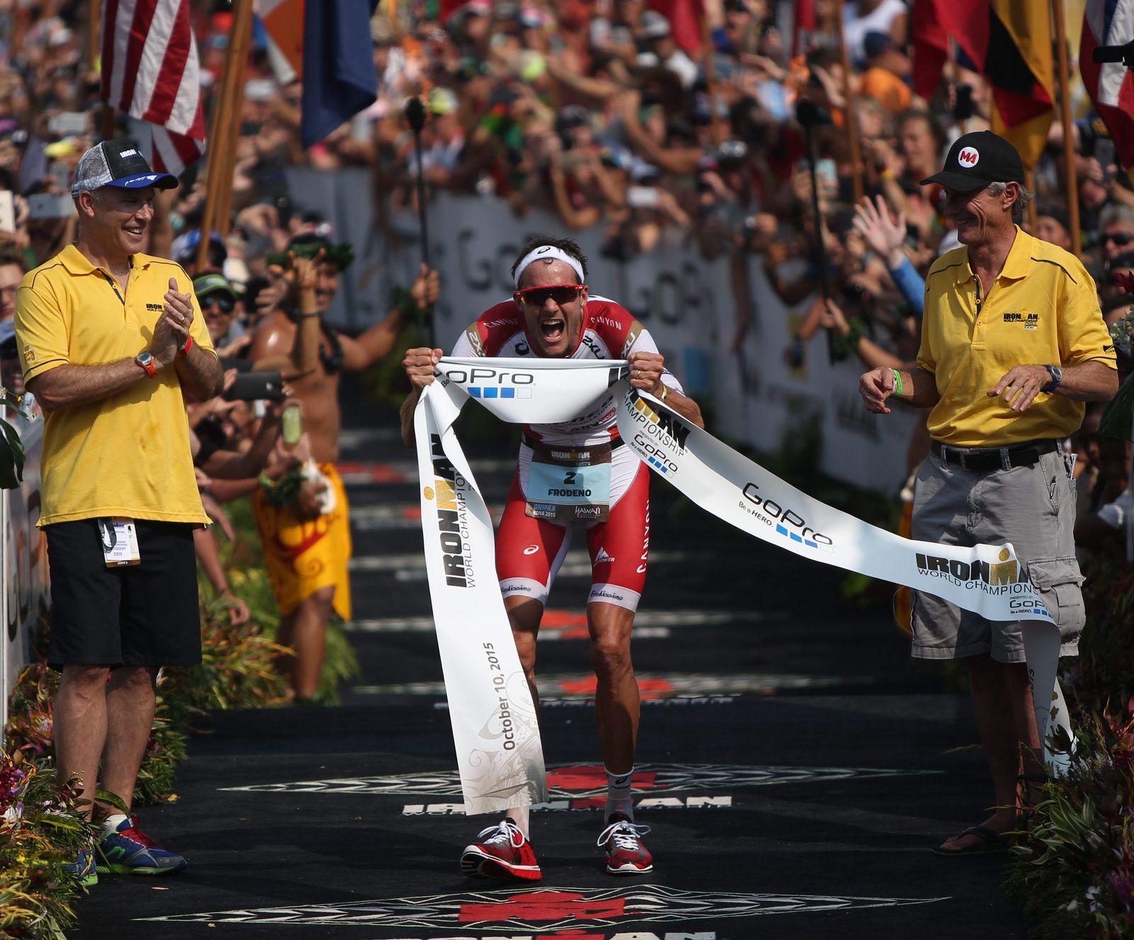 Ironman Hawaii / Frodeno 2015