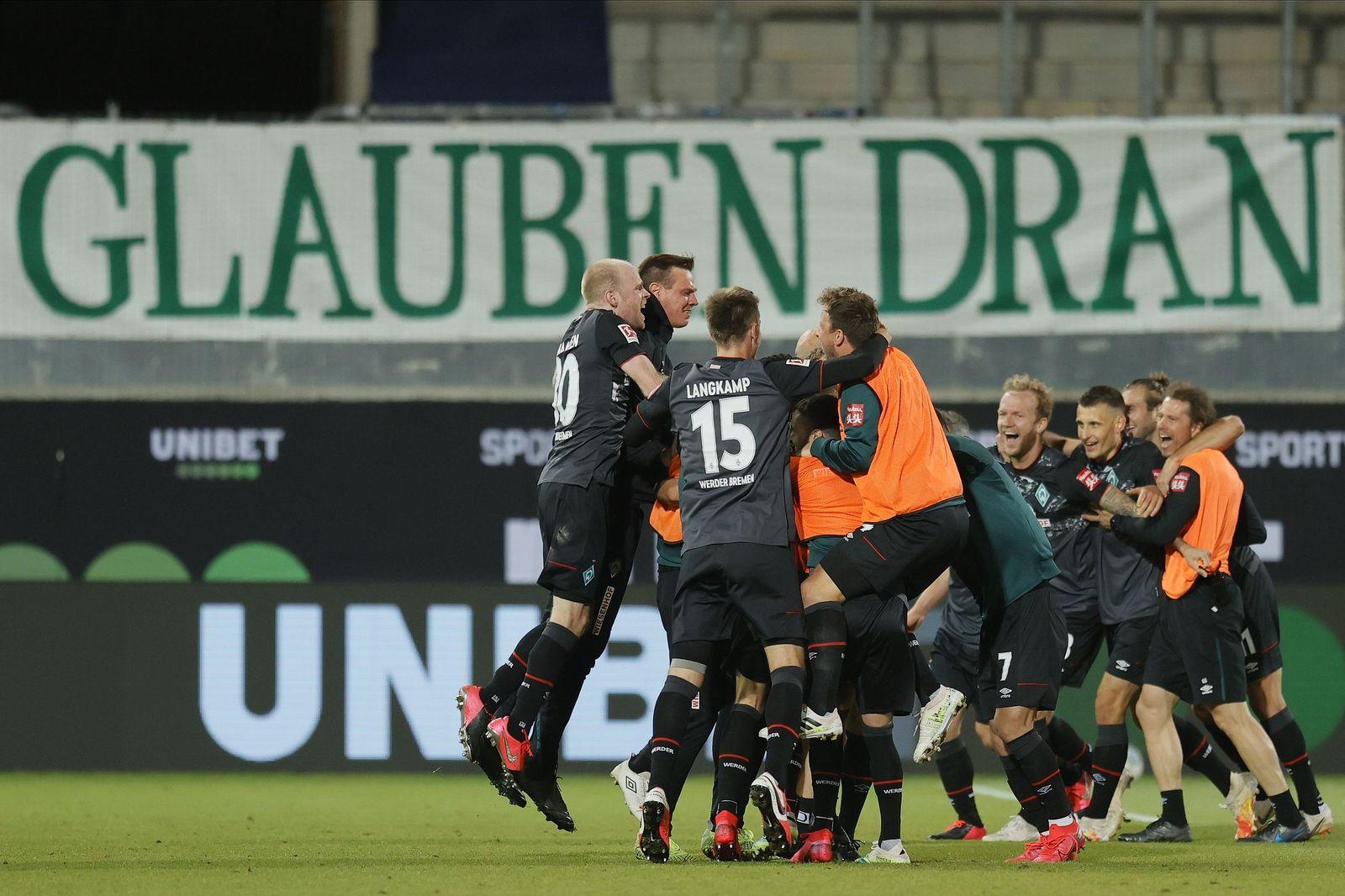 1. FC Heidenheim vs Werder Bremen, Germany - 06 Jul 2020