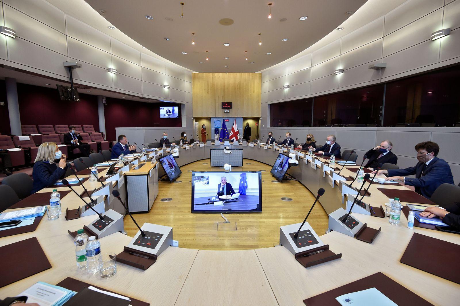 Brexit talks in Brussels